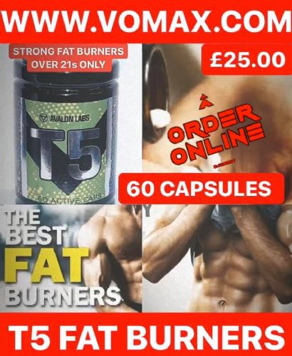 T5 FAT BURNERS 60 CAPSULES
